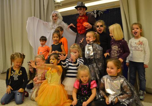 Выездная развлекательная программа Хеллоуин;уличная развлекательное представление