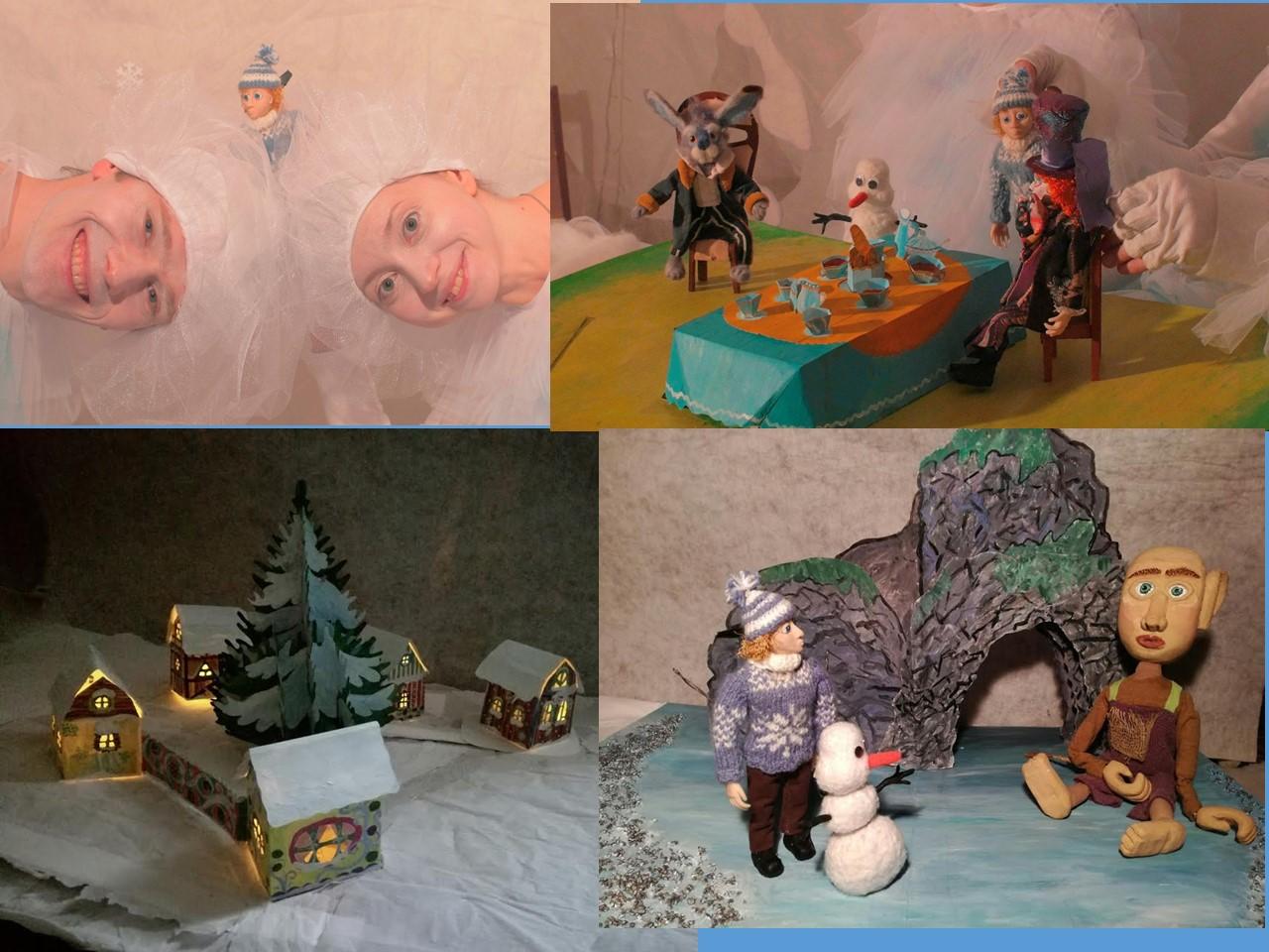 Кукольный спектакль Новогодняя сказка