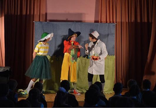 Спектакль для детей по Экологии