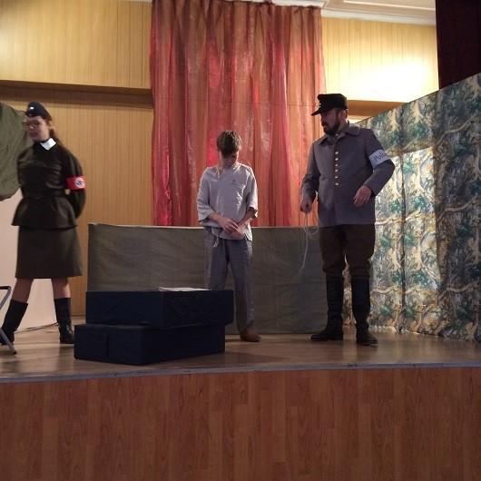Выездной спектакль Сын полка