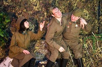 Спектакль Великая Отечественная;Представление о великой отечественной войне