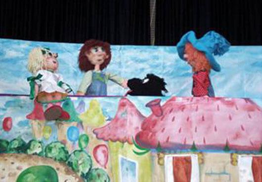 Кукольный спектакль про Незнайку