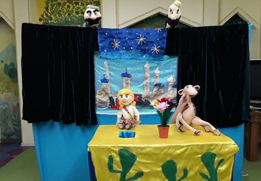 Выездной кукольный спектакль про волшебство