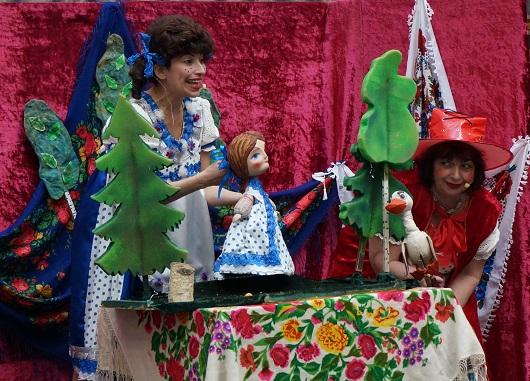 Кукольный спектакль по сказкам знакомым с детства
