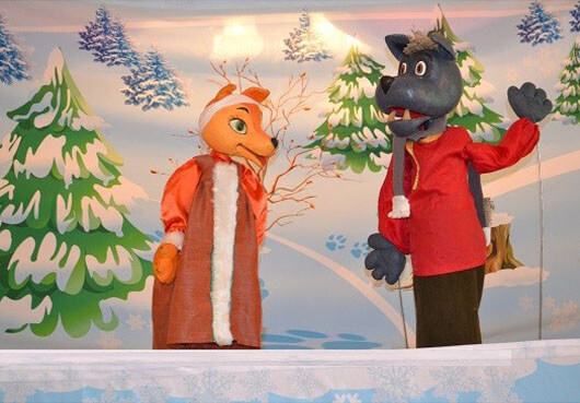 Зимняя кукольная сказка к Новому году