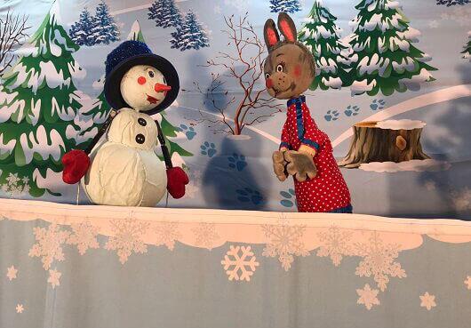 Выездной спектакль-зимняя сказка на Новый год