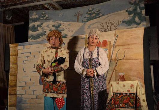 Кукольный спектакль в народных традициях